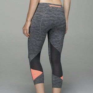 Lululemon Pace Rival Crop Wee Are From Space Black